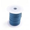 Cotton Wax Cord 3mm Flat Royal Blue